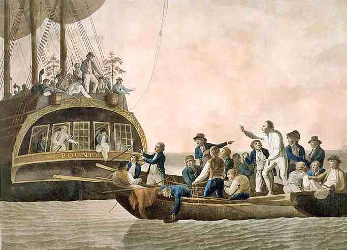 Most famous mutiny in naval history