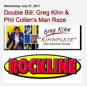 Greg Kihn will be a featured guest on the nationally