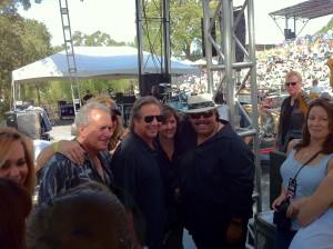 Greg Kihn, Bruce Cohn Carlos Reyes at BR Cohn Fall Festival