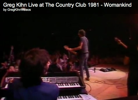 Greg Kihn Live at The Country Club 1981 - Womankind