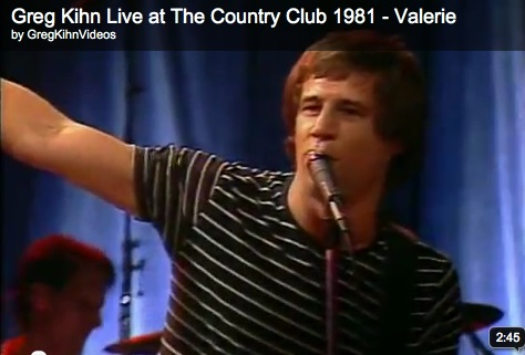 Greg Kihn Live at The Country Club 1981 - Valerie