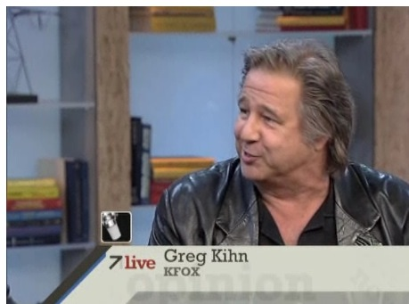 Greg Kihn on ABC 7Live – Opening for the Rolling Stones (video)