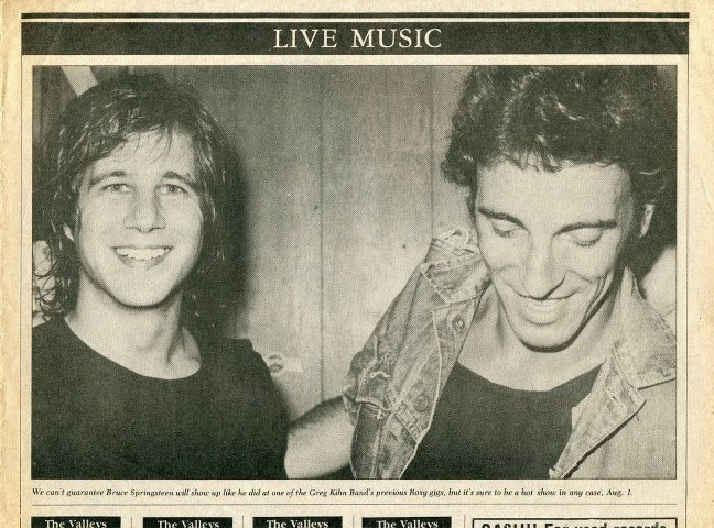 Bruce Springsteen and Greg Kihn