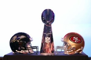 NFL: Super Bowl XLVII-Coach Jim & John Harbaugh-Press Conference