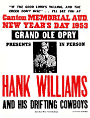 Hank Williams Doorknob