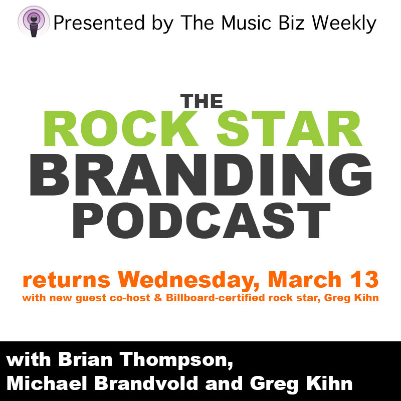 Rock Star and Radio DJ Greg Kihn Joins Rock Star Branding Podcast as Special Co-Host