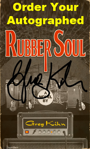 Order Rubber Soul Autographed by Greg Kihn