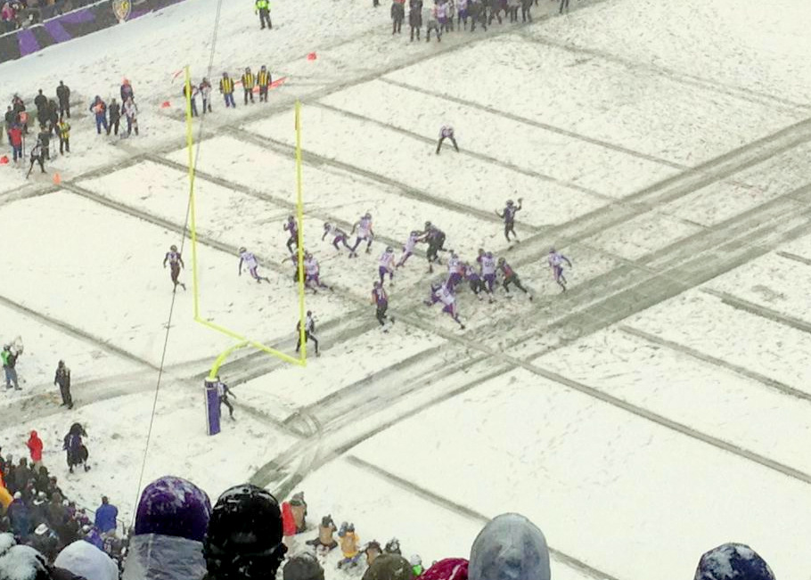 Great Sunday of Football! The snow in Baltimore and Philadelphia was insane.