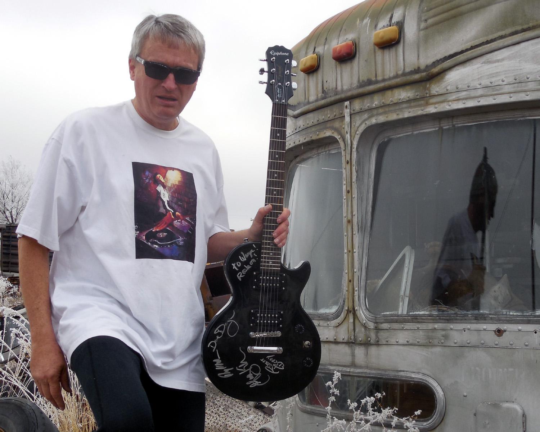 Kihngratulations Wayne You Won the Autographed Greg Kihn Band Guitar!