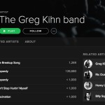 Greg Kihn Band & Spotify 'Kihnnect'