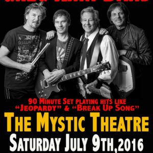 Greg Kihn Band @ Mystic Theatre July 9th … PERFORMING NEW MATERIAL?