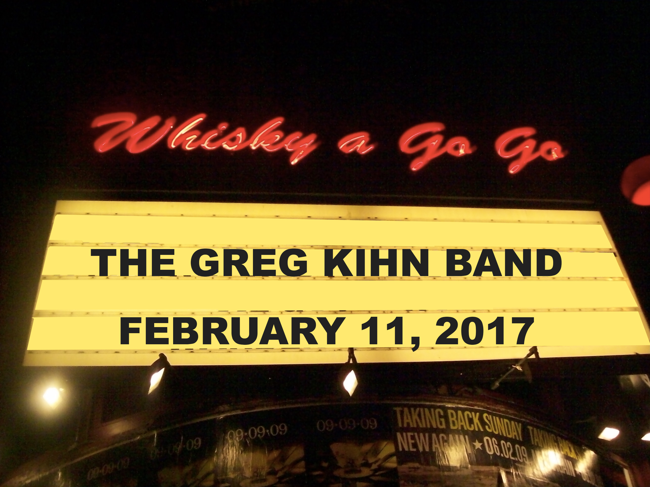 Win 2 Tickets to see Greg Kihn Band at Whisky A Go Go