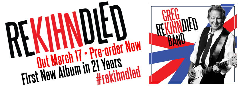 Greg Kihn Band Releases Brand New Album REKIHNDLED – Pre-Order Now