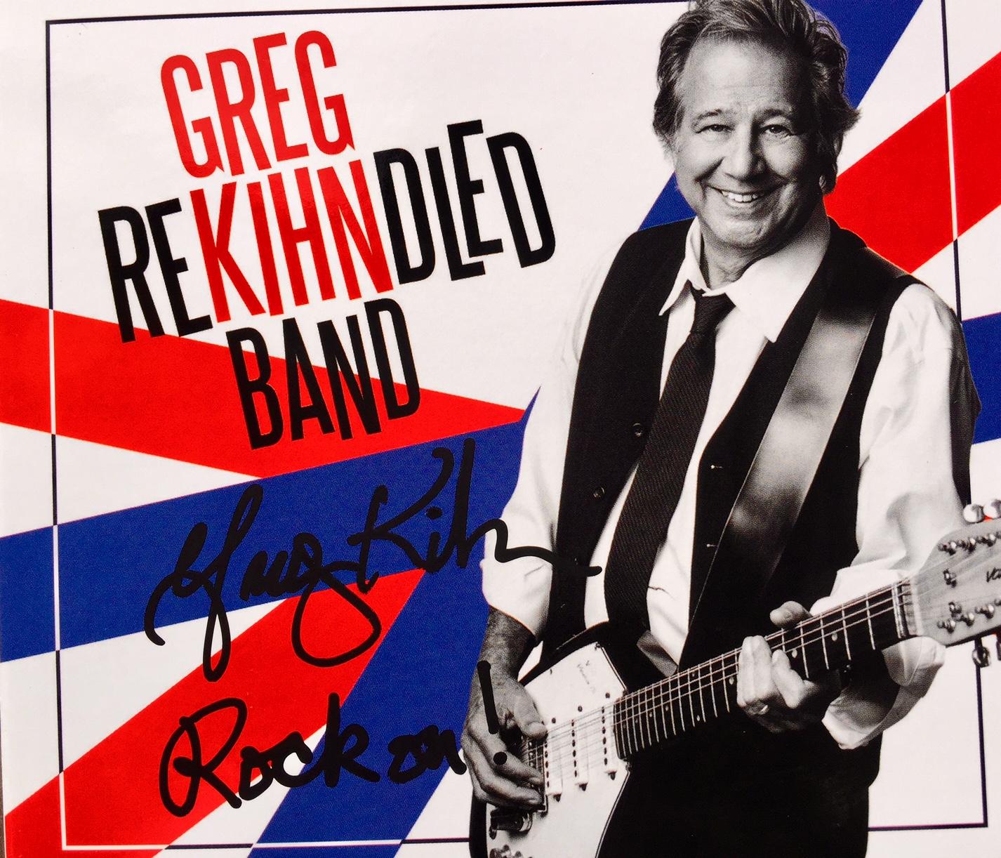 Autographed Greg Kihn Band Rekihndled