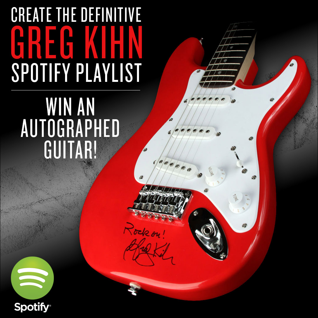 Greg Kihn Spotify Contest